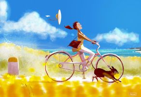 Definitely feels like Summer. by PascalCampion