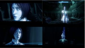 Cortana, Halo 4 by Thrumm