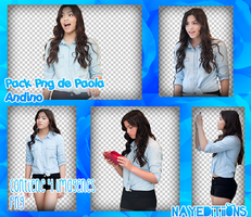 Pack Png Paola Andino by nayeditiions by NayEditiions