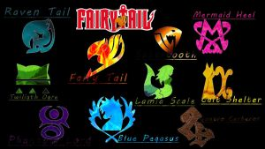 Fairy Tail Symbole by ElodieTheFox051400