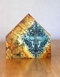 Damask - Fire and Ice - Corner Bookmark by ACreativeKitten
