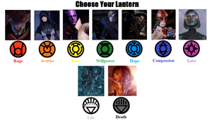 Mass Effect Lanterns by Powershade117