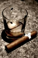 a Drink, a Cigar by WyldSide-mx3