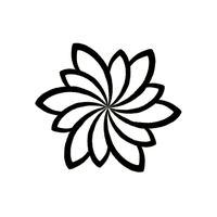tribal flower 4 by Tayeloquin