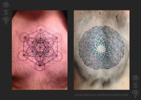 Sacred Geometry Tattoo by If-not-for-Gravity