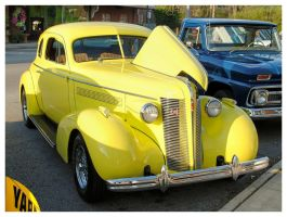 Yellow Buick Hot Rod by TheMan268