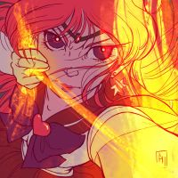 Sailor Mars by YumeSprite