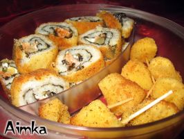 Lunch for my husband by Aimka
