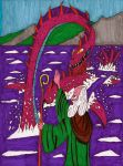St. Columba and The Loch Ness Monster by Leonman-42
