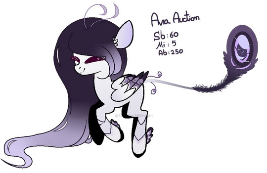 |MLP CLOSED SPECIES|AVIA Peacock AUCTION |CLOSED| by Sapphire-M00nLight