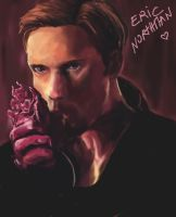 eric northman and the heart by ArcaDia-Ice