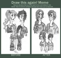 Growing Up RE DRAW by RowenSatell