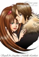 Squall L. and AML by kanariya by Sweetly-Chaotic