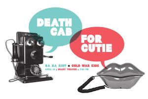 Death Cab For Cutie Gig Poster by goodmorningvoice