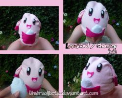 Chansey hat by UmbreoNoctie