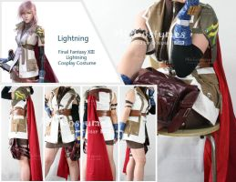 ff xiii Lightning Cosplay by miccostumes