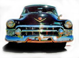 Black Cadillac by johnwickart