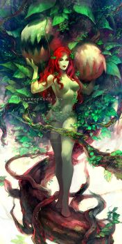 Poison Ivy by Haining-art