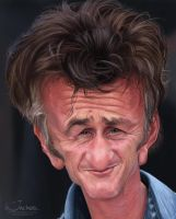 Sean Penn by creaturedesign