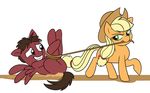 All Tied Up by Mickeymonster