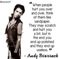 Andy Quote by Using0nlycaps