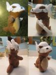 Cubone Plush by laurenn203