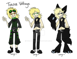 Tonya Voltage reference by Voltage-X