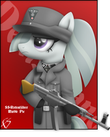 Marble with uniform by WaffenFlutterSShy