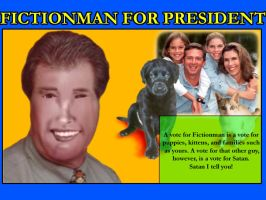 Fictionman For President by SWJG
