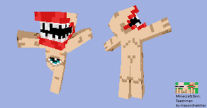 Minecraft Skin - Teethman by masonthekiller