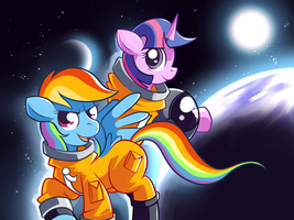 Advanced Pony Escape Suits by Karzahnii