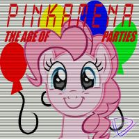 Pinkamena - The Age of Parties by UtterlyLudicrous