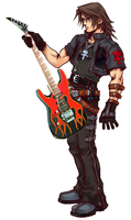 Guitar Squall by TheMissingCloud