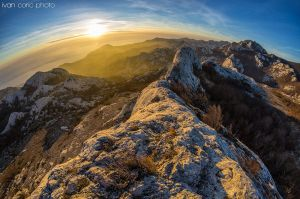 Sunset on Stap by ivancoric