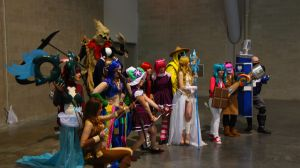 PAX East 2013 - League of Legends Photoshoot 4 by VideoGameStupid
