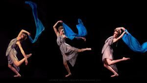Fabric and movement triptych by moshunman