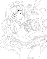 DOLL -Lineart- by HinataSenpai
