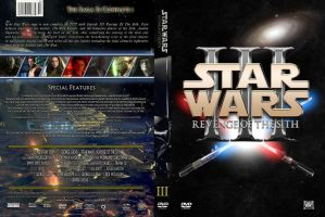 Star Wars: Revenge of the Sith Custom DVD Cover by SUPERMAN3D
