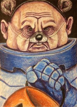 ACEO: Sontaran Trick or Treat by DanielleMWilliams