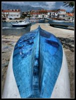 The boat and the village by kanes