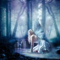 forest fairy by Woolpix