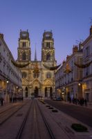 Cathedral city in France, Orleans by UrraaPictures