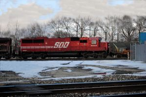 soo sd60 heading west by wolvesone