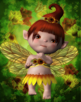 Fairy baby by KaitlnnM