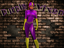 imvuART: The Rise of the Purple Vixen SFX by LaraLuvsMe