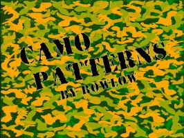 camo patterns cs5 brushes by rowlee