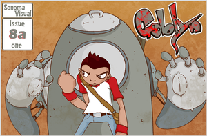 Goblyn Issue 8a by SolomonMars