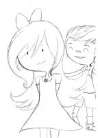Fionna y Marshall Memories by Pallypucca