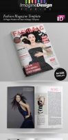 24 Pages Fashion Magazine Template by idesignstudio