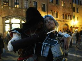 Ezio Auditore cosplay 09 by darksidecry